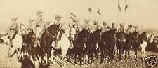 German Army Cavalry East Africa World War 1, 7x3 inch Reprint Photo a