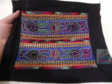 33x25cm Chinese minority Women's hand embroidery Old Embossed Embroidery