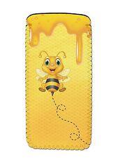 BEE Soft Neoprene Glasses Phone Case Pouch Sleeve Fun Novelty Beekeeper Gift