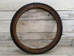 1980s Schwinn Comp III Style 20x2.125 Black Gum Wall Tire Old School BMX Predato
