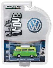 1:64 GreenLight *CLUB V-DUB R4* Green 1968 Volkwagen VW Type 2 T2 BUS NIP!