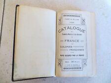 Yvert & Tellier Catalogue des Timbres de France et Colonies 1922