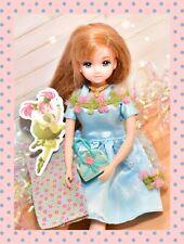 ��Takara Licca-chan Rika-chan Friend Maria-Chan with Flower Dress Lw-18 Japan��