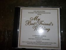 MEMORABLE SONGS FROM MY BEST FRIEND'S WEDDING THE TESCA CO & SINGERS CD (HH3)