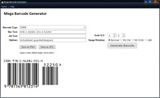 Barcode Generator Software -  Resell & Personal Use rights
