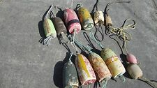 12 DUNGENESS CRAB POT BUOYS NET FLOATS BOUYS LOBSTER  SHRIMP