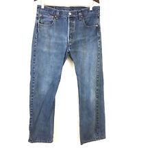 Levi's 501 button fly vintage straight leg jeans Mens 34x30 boyfriend high rise