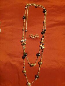 1986 Vintage Estate Tiffany & Co 18K Yellow Gold 3 Interlocking Star Pin Brooch