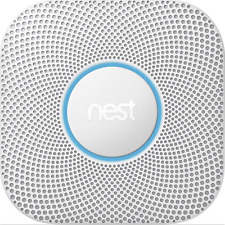Nest Protect Smoke Carbon Monoxide Alarm- 2nd Generation Wired S3003LWES