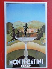 POSTCARD  MONTECATINI - ITALY - POSTER CARD