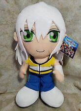 """Kingdom Hearts RIKU Rare White Hair 12"""" Plush Doll Playstation Disney Anime  C1"""