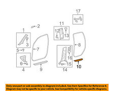 TOYOTA OEM 07-11 Tundra-Door Sill Plate Left 679180C030E0