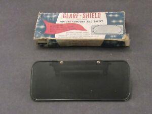 1930 's 1940 's Accessory Rear View Mirror Glare Shield NOS
