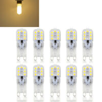 5X Dimmable G9 5W Silicone Crystal LED Corn Bulb SpotLight White Lamp 220V Set