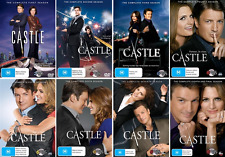 CASTLE Season 1 2 3 4 5 6 7 8 : NEW DVD