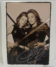 XENA :  ALEXANDRA TYDINGS PHOTO SIGNED BY CLAUDIA CHRISTIAN (C3) (27)