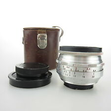 Für Exa Meyer Optik Q1 Primagon 4.5/35 Objektiv / lens + case