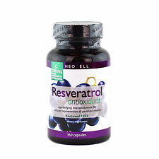 Neocell Resveratrol Antioxidant 150 Caps Rejuvenation Free Shipping Made In USA