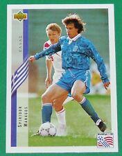 FOOTBALL CARD UPPER DECK 1994 USA 94 SPIRIDON MARAGOS GRECE GREECE HELLAS