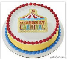 CARNIVAL Cake Decoration Topper Kit Cupcake Circus Birthday Plac Children Fair *