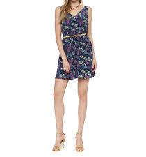 JUICY COUTURE WOMEN'S SILK FLORAL PRINT DRESS SIZE 6