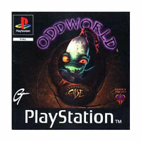 PS1 - Oddworld Abe's Oddysee Sony PlayStation PS1 Video Game (PAL)