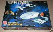 AMT Ertl Star Trek Enterprise Flight Display Model Kit