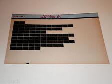 Microfiche Catalogo Ricambi Suzuki GSF 400 Stand 1991