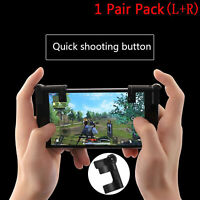 Smartphone Game Trigger Fire Button Handle para controlador de tirador L1R1 PUBG