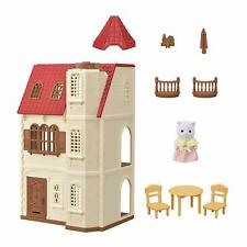 Sylvanian Families RED ROOF HOUSE WITH ELEVATOR LIFT HA-49 Calico Critters