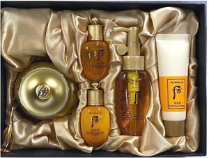 The History of Whoo GongJinHyang Qi and Jin Cream Gift Set Moisturizing Lifting