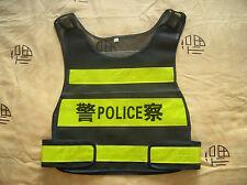 2011's series China Police Safety Reflective Vest,NEW.