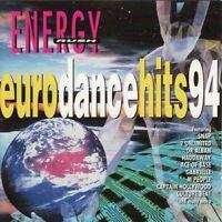 EURO DANCE HITS 94 - ENERGY RUSH various (CD compilation 1994) Euro house, house