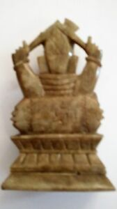 antique hand carved lord lord soap  stone