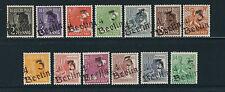GERMANY 1948 Soviet Occ. Zone Hand stamped BERLIN LOCALS  (Sc 557//573) VF MH