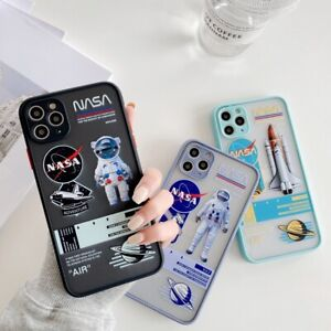 Cool Astronaut Space Phone Cover Case For iPhone 7 8+ 11 Pro XS Max XR 12 mini