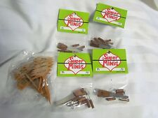 Vintage Dollhouse Miniature Super Minis Garden Tools Wooden Yard Signs Lot New