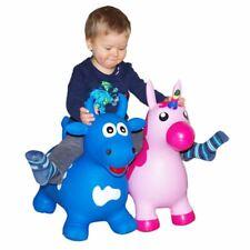 Animal Vaca O Unicornio Con Bomba Bola para Saltar Skip Caballo Pony Infantil