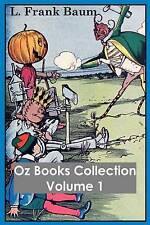 Oz Books Collection Vol  1 Wonderful Wizard Oz Ma by Baum L Frank -Paperback
