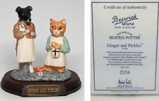 "Beswick Ware Beatrix Potter ""Ginger and Pickles"" Tableau Figurine"