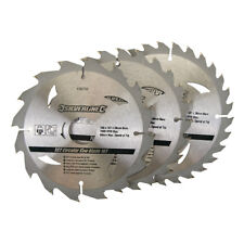 Silverline TCT Circular Saw Blades 3pk 150 X 20 - 16 12.75mm Rings