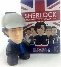 """BBC Sherlock in Deerstalker Hat - Titan Vinyl Figure NYCC 2016 Exclusive 3"""" POP"""