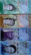 VENEZUELA 2016 500 1000 2000 5000 Bolivars NEW DESIGN COLOURFUL UNC NOTES!