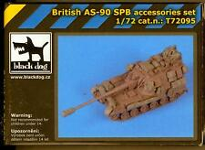 Blackdog Models 1/72 BRITISH AS-90 SELF PROPELLED GUN ACCESSORIES SET Resin Set