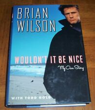 """BRIAN WILSON BOOK - """"WOULDN'T IT BE NICE"""" - 1991 FIRST EDITION - HARPER COLLINS"""