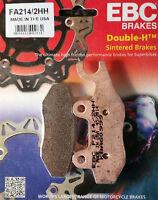 EBC/FA214/2HH Sintered Brake Pads (Rear) - Triumph Bonneville T100, Scrambler