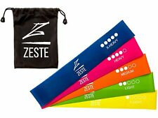 Zeste Resistance Bands - Best Home and Gym Fitness Latex Elastic Loop Band for W