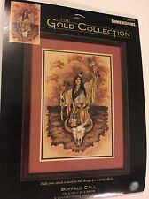 """Dimensions BUFFALO CALL 35076 Counted Cross Stitch The Gold Collection 10"""" x 15"""""""