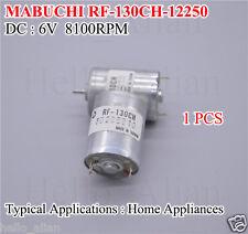 Mabuchi RF-130 Micro Mute Motor 6V DC 8100RPM Mini Small DC Motor RF-130CH-12250