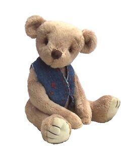 "Bertram Bear soft toy teddy sewing pattern. Sews a  9 "" ted"